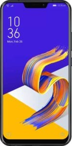 8Gb RAM and 256GB ROM Asus ZenFone 5Z (Midnight Blue) at Rs.34,999