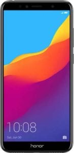 3GB – 32GB Honor 7A Black at Rs.7,199/-
