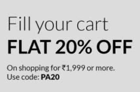 MAX Fashion Coupon – Get 20% percent discount on Rs.1999