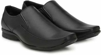 Get Provogue Slip On For Men (Black) at Rs.849 only