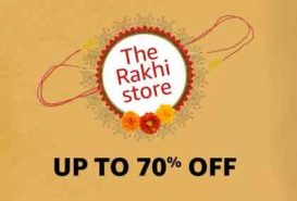 Get Beautiful Rakhi Offers on this Raksha Bandhan 2018 on Amazon