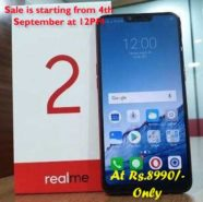 Realme 2 3GB RAM and 32GB ROM Diamond Black at Rs.8990
