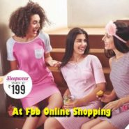 Get sleepwear for Rs.179 at Fbb online shopping