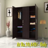 Buy Perfect Homes Julian 3 Door Wardrobe at Rs.10449