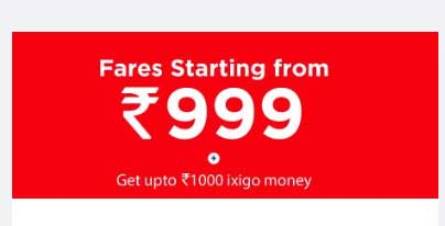 Grab AirAsia Sale Fares starting at Rs.999 and up-to Rs.1000