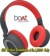 Get Boat Rockerz-430 Wireless Bluetooth Headphone at Rs.1,999
