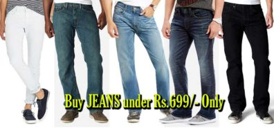Buy Jeans for Men at under Rs.699 on Snapdeal