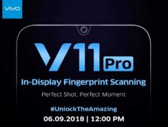 Get your Vivo V-11 Pro Perfect Shot Mobile on 6th