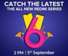 Catch the latest all new Redmi series on 5th September