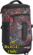 Provogue Sports MILITARY HI-STORAGE DUFFEL Backpack at Rs.654