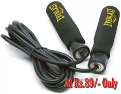 Buy Skipping Ropes at Rs.89 Only on Flipkart at 60 percent discount